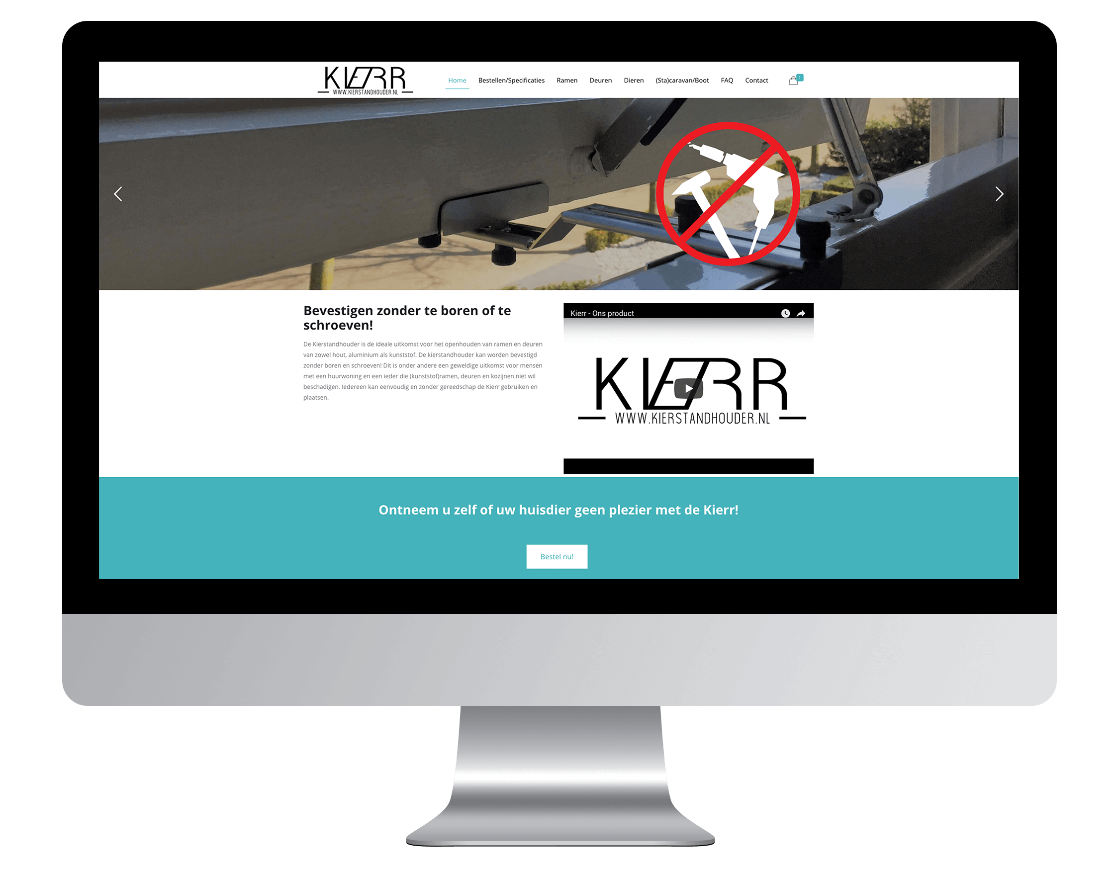 Nieuwe website