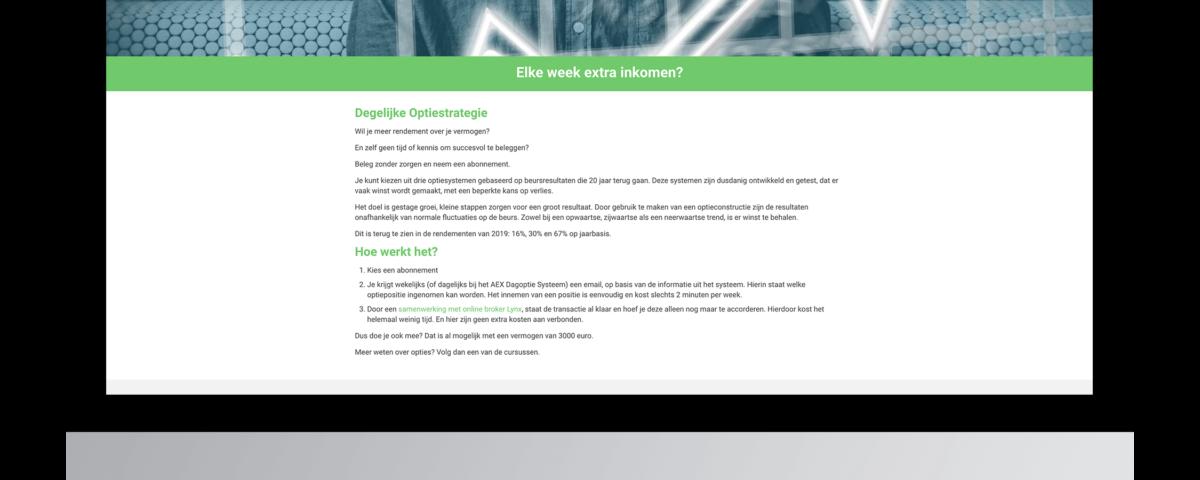 Webshop laten maken door Elke Week Geld
